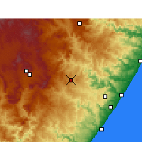 Nearby Forecast Locations - Harding - Χάρτης