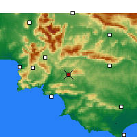 Nearby Forecast Locations - Caledon - Χάρτης