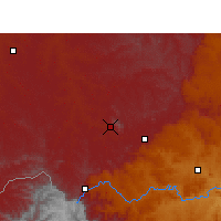 Nearby Forecast Locations - Harrismith - Χάρτης