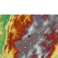 Nearby Forecast Locations - Zipaquirá - Χάρτης