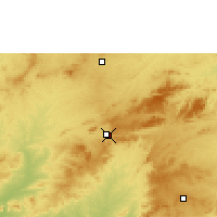 Nearby Forecast Locations - Arcoverde - Χάρτης