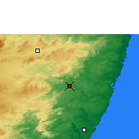 Nearby Forecast Locations - Palmares - Χάρτης