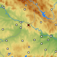 Nearby Forecast Locations - Vichtenstein - Χάρτης