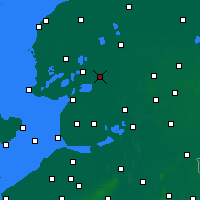 Nearby Forecast Locations - Heerenveen - Χάρτης