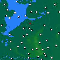 Nearby Forecast Locations - Dronten - Χάρτης
