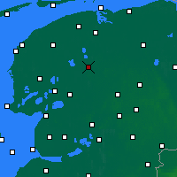 Nearby Forecast Locations - Drachten - Χάρτης