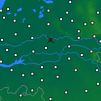 Nearby Forecast Locations - Culemborg - Χάρτης
