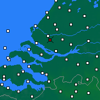 Nearby Forecast Locations - Spijkenisse - Χάρτης
