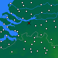 Nearby Forecast Locations - Zevenbergen - Χάρτης