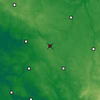 Nearby Forecast Locations - Lezay - Χάρτης