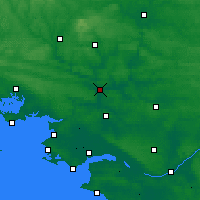 Nearby Forecast Locations - Redon - Χάρτης