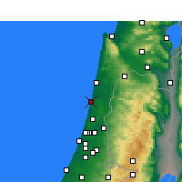 Nearby Forecast Locations - Νετάνια - Χάρτης