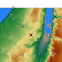 Nearby Forecast Locations - Dimona - ������