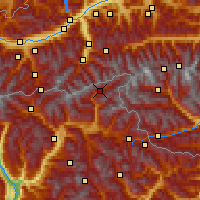 Nearby Forecast Locations - Ahrntal - Χάρτης
