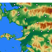 Nearby Forecast Locations - Selçuk - Χάρτης