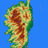 Nearby Forecast Locations - Vezzani - Χάρτης