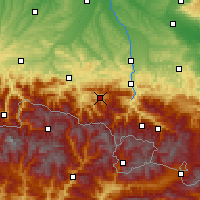 Nearby Forecast Locations - Massat - Χάρτης
