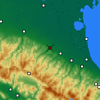 Nearby Forecast Locations - Ίμολα - Χάρτης