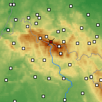 Nearby Forecast Locations - Špindlerův Mlýn - Χάρτης