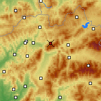 Nearby Forecast Locations - Terchová - Χάρτης