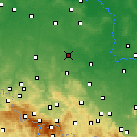 Nearby Forecast Locations - Chojnów - Χάρτης