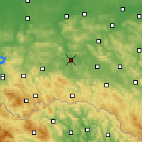 Nearby Forecast Locations - Jasło - Χάρτης
