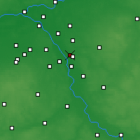Nearby Forecast Locations - Józefów - Χάρτης