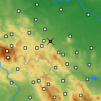Nearby Forecast Locations - Świdnica - Χάρτης