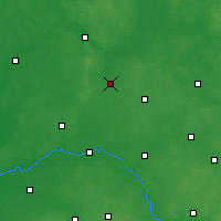 Nearby Forecast Locations - Zambrów - Χάρτης