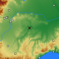 Nearby Forecast Locations - Asti - Χάρτης