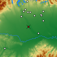 Nearby Forecast Locations - Vigevano - Χάρτης