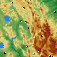 Nearby Forecast Locations - Foligno - Χάρτης