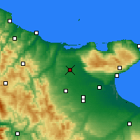 Nearby Forecast Locations - San Severo - Χάρτης