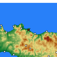 Nearby Forecast Locations - Bagheria - Χάρτης