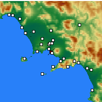 Nearby Forecast Locations - Portici - Χάρτης
