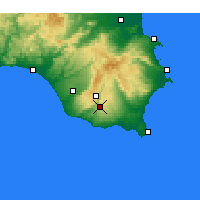 Nearby Forecast Locations - Modica - Χάρτης