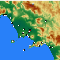Nearby Forecast Locations - Acerra - Χάρτης
