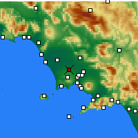 Nearby Forecast Locations - Aversa - Χάρτης
