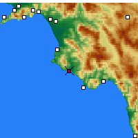 Nearby Forecast Locations - Casal Velino - Χάρτης