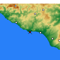 Nearby Forecast Locations - Licata - Χάρτης