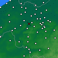 Nearby Forecast Locations - Gavere - Χάρτης