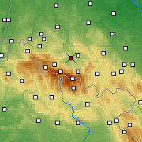 Nearby Forecast Locations - Podgórzyn - Χάρτης