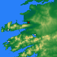 Nearby Forecast Locations - Tralee - Χάρτης