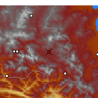 Nearby Forecast Locations - Yüksekova - Χάρτης