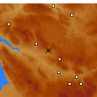 Nearby Forecast Locations - Mucur - Χάρτης