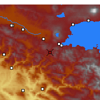 Nearby Forecast Locations - Bitlis - Χάρτης