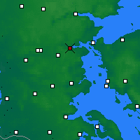 Nearby Forecast Locations - Kolding - Χάρτης