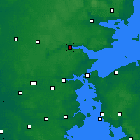 Nearby Forecast Locations - Vejle - Χάρτης
