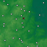 Nearby Forecast Locations - Corby - Χάρτης