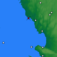 Nearby Forecast Locations - Falkenberg - Χάρτης